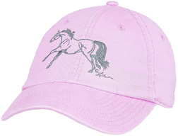 Embroidered Cap Galloping 2 PINK #A112G2