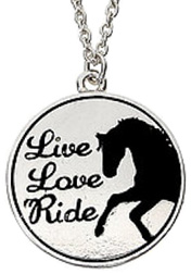 Necklace Live, Love, Ride #JN118