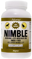 Nimble Glucosamine Dog/Cat 120 CHEWABLE TABS