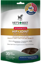 VETS BEST Advanced Hip + Joint Soft Chews 30