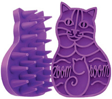 Zoomgroom Grooming & Shampooing Brush CATS