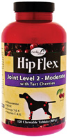 Hip Flex Joint Level 2 Moderate Tart Cherries CHEWABLE TABS 120
