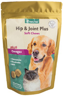 Hip & Joint PLUS Omegas Dogs & Cats SOFT CHEWS 120