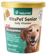 Vita Pet Senior Daily Vitamin Plus Glucosamine SOFT CHEWS 60