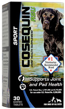 Cosequin Joint Health Supplement ASU Sport CHEWABLE TABS 30