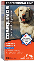 Cosequin Joint Health Supplement DS Maximum Strength Plus MSM 60 Chewable Tabs